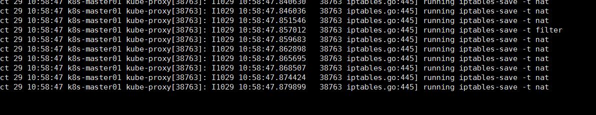 kubernetes 1.9版本二进制部署 kube-proxy组件没成功调iptables添加相关规则