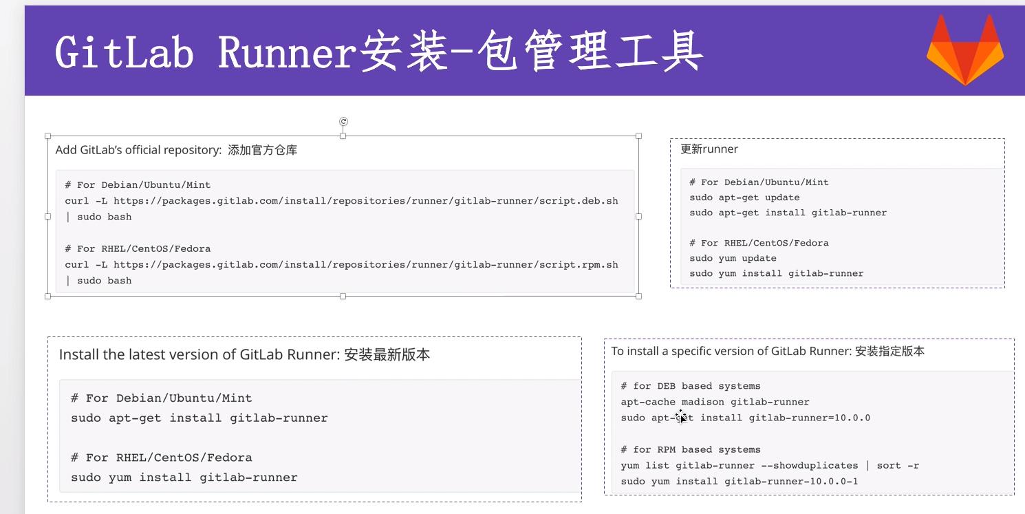 gitlab-runner安装和注册
