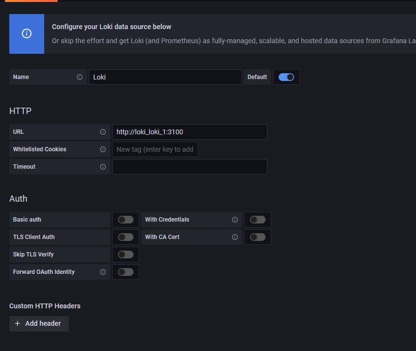 docker-compose安装使用loki+promtail+grafana 收集容器日志